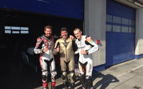 Damian Cudlin, Roberto Pampanini, Alex Phillis