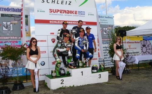 Podestplatz Weber-Diener Racing