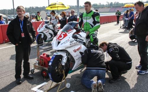 Gabor Rizmayer fährt für das Weber-Diener Racing Team