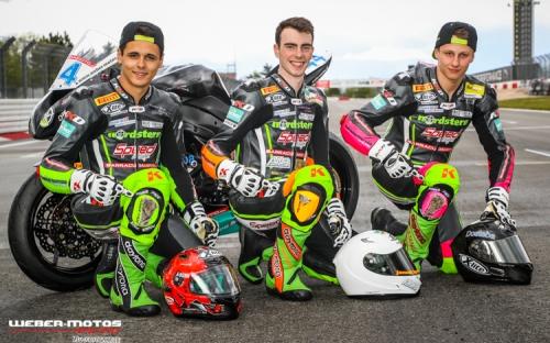 Colin Rossi, Janusch Prokop, Chris Stange