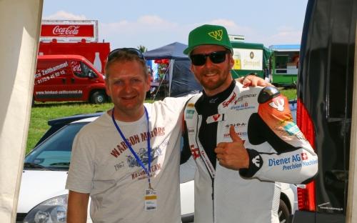 Emil Weber mit Damian