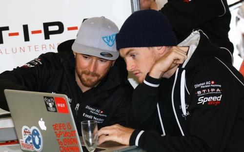 Damian Cudlin und Alex Phillis