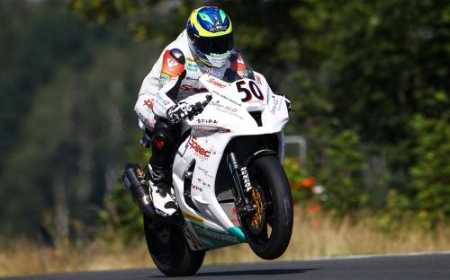 Damian Cudlin IDM Superbike in Schleiz