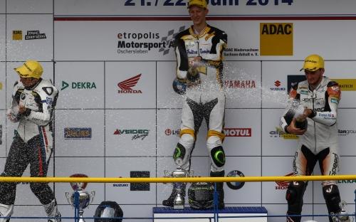 auch im zweiten Lauf kann sich Alex den 3. Rang sichern!