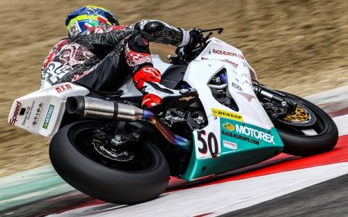 Damian Cudlin auf der Weber-Diener Kawasaki ZX-10R
